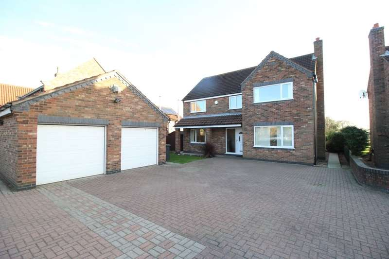 4 Bedrooms Detached House for sale in Pine Lodge Main Street, Great Heck, GOOLE, DN14