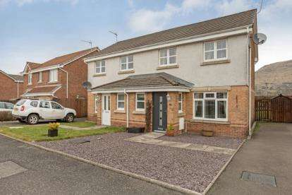 3 Bedrooms Semi Detached House for sale in Glentye Drive, Tullibody