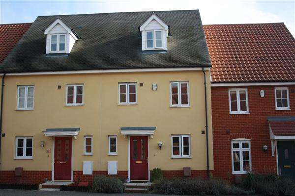 3 Bedrooms Town House for sale in Turing Court, Grange Farm, Kesgrave, Ipswich