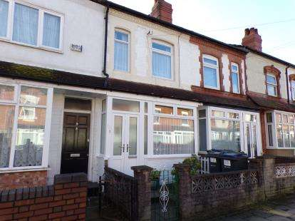 2 Bedrooms Terraced House for sale in Milner Road, Selly Park, Birmingham, West Midlands