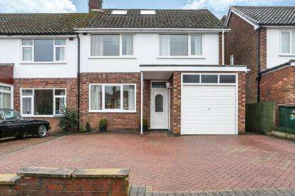5 Bedrooms Semi Detached House for sale in Wolverton Road, Mount Nod, Coventry, .