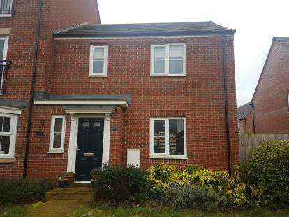 2 Bedrooms Terraced House for sale in Angell Drive, Market Harborough, Leicestershire, .