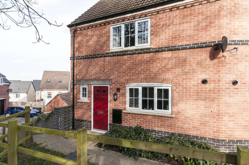 2 Bedrooms End Of Terrace House for sale in Pritchard Drive, Kegworth