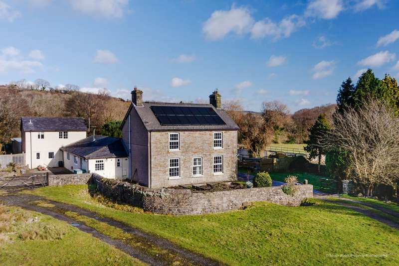 5 Bedrooms House for sale in Green Meadow Farm, Ystrad Waun, Pencoed, Bridgend, Bridgend County Borough, CF35 6PW.