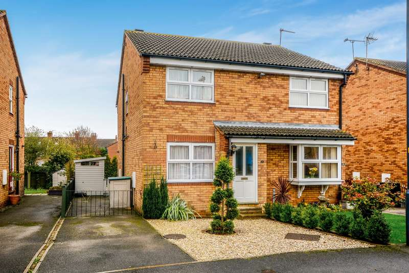 2 Bedrooms Semi Detached House for sale in Yew Tree Close, Selby, YO8 3NE