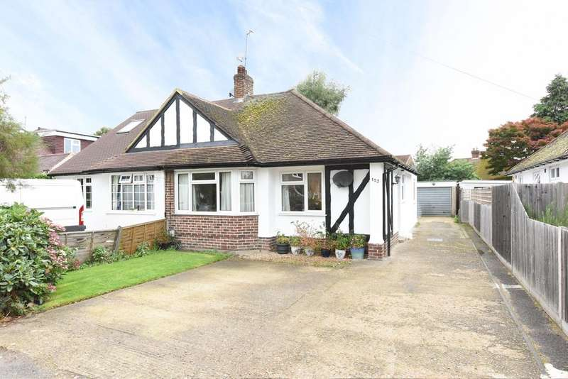 3 Bedrooms Semi Detached Bungalow for sale in Rydens Road, WALTON ON THAMES KT12
