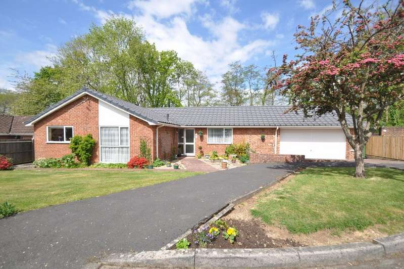 3 Bedrooms Detached Bungalow for sale in Maytree Close, Fair Oak, Eastleigh, Southampton, Hampshire, SO50 7BU