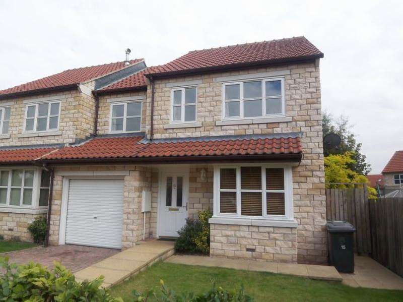 4 Bedrooms Semi Detached House for rent in MILNTHORPE LANE, BRAMHAM, LS23 6SW