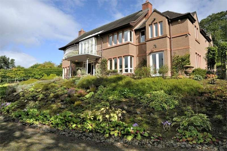5 Bedrooms Detached House for sale in Beech Bank, Nenthorn, KELSO, Scottish Borders