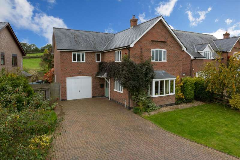 4 Bedrooms Detached House for sale in Fairview, Mount Pleasant, Llwyn Road, Clun, Shropshire, SY7