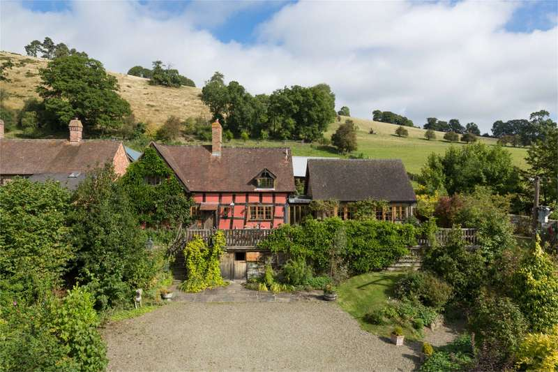 4 Bedrooms Detached House for sale in Cwm House, Clunton, Shropshire, SY7