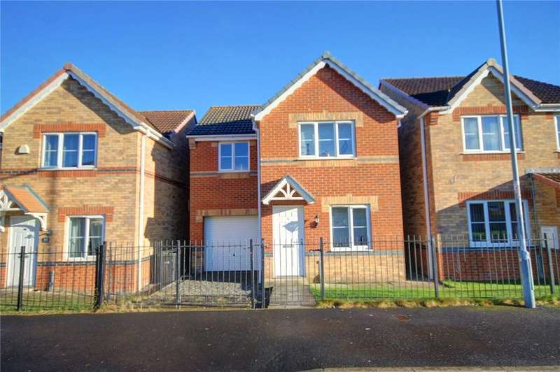 3 Bedrooms Detached House for sale in Valiant Way, Stanley, County Durham, DH9