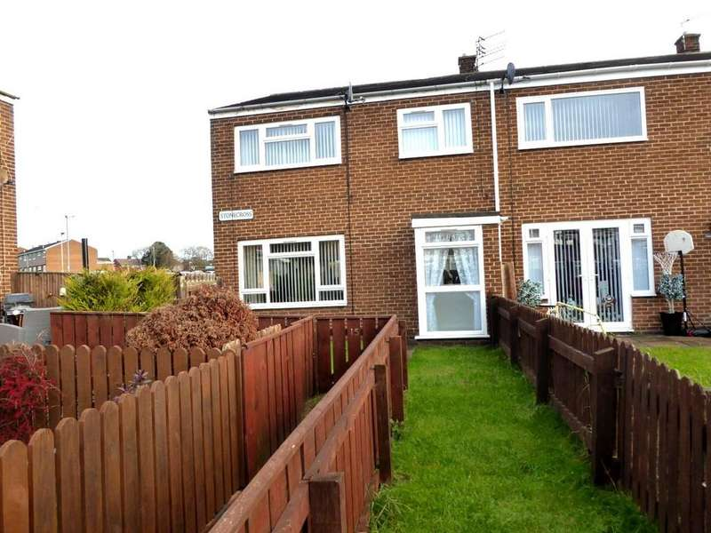 3 Bedrooms End Of Terrace House for sale in Stonecross, Ashington