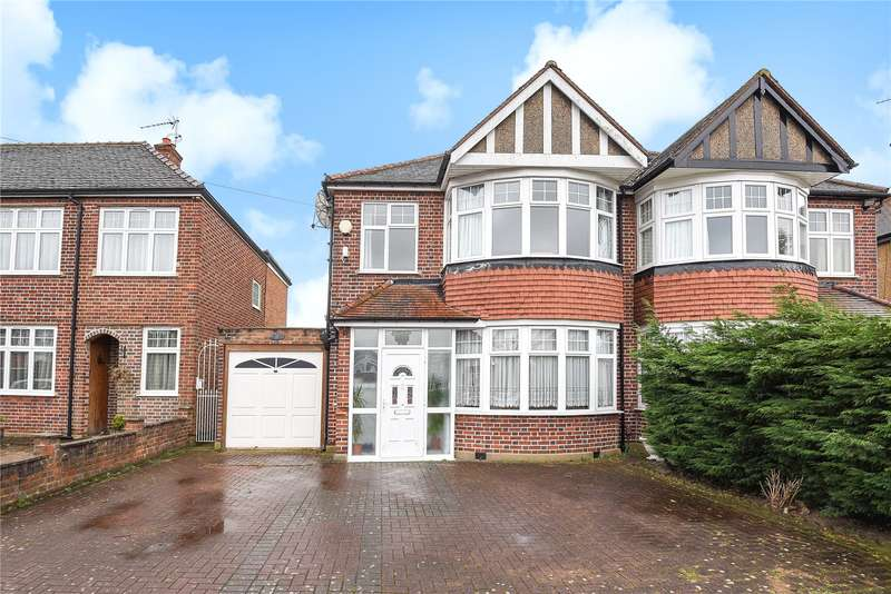 3 Bedrooms Semi Detached House for sale in Hawtrey Drive, Ruislip, Middlesex, HA4