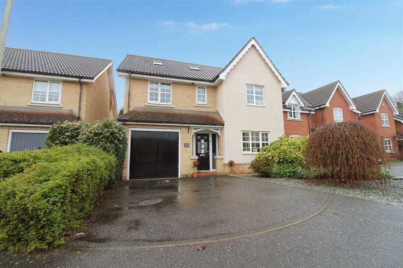6 Bedrooms Detached House for sale in Wren Close, Stowmarket