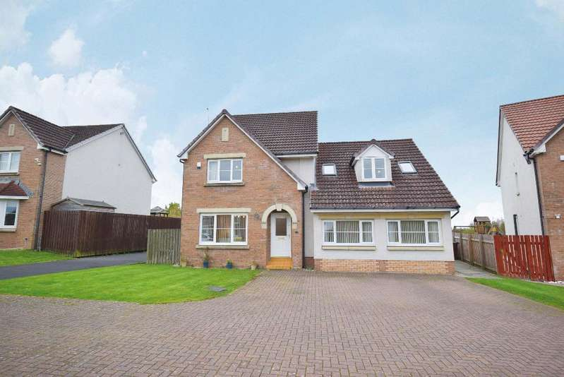 4 Bedrooms Detached House for sale in Deaconsgrange Road, Deaconsbank, Glasgow, G46 7UL