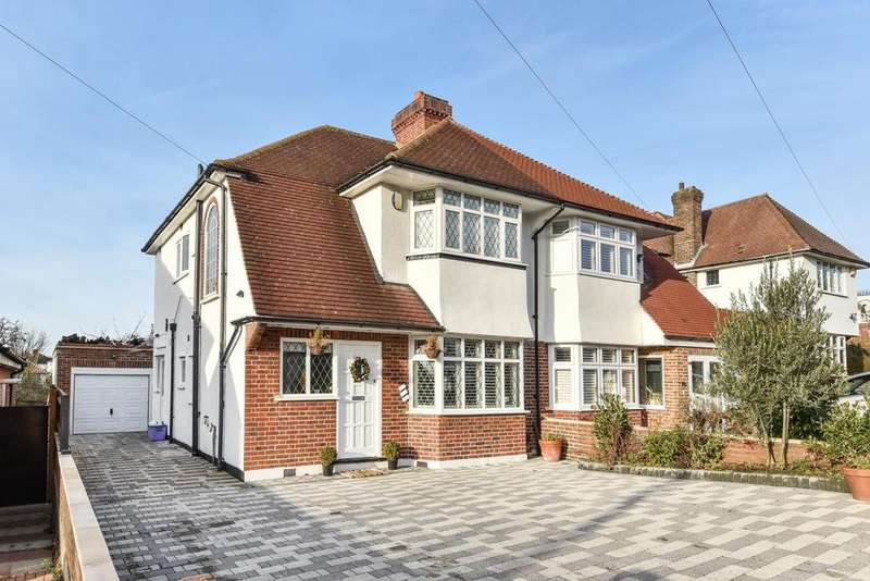 3 Bedrooms Semi Detached House for sale in Christian Fields, Norbury