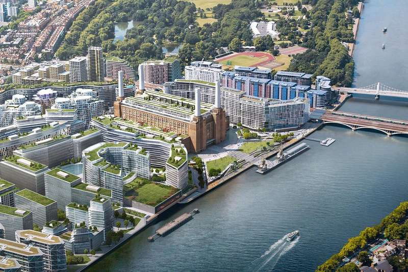 4 Bedrooms Apartment Flat for sale in Battersea Power Station