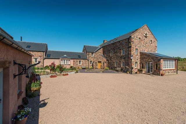 5 Bedrooms Detached House for sale in Whiteknowes, Westruther, Scottish Borders, TD3