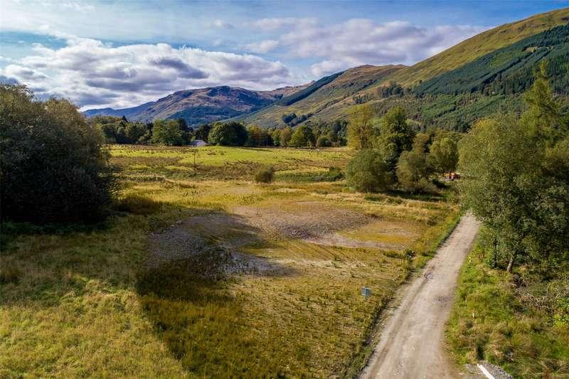 Land Commercial for sale in Stronvar Development Plot 4, Balquhidder, Lochearnhead, Stirlingshire, FK19