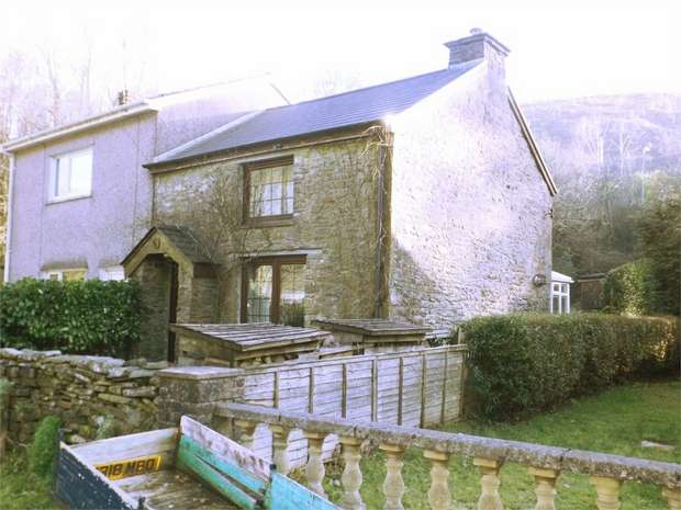 2 Bedrooms Cottage House for sale in Underbridge, Pontrhydyfen, Port Talbot, West Glamorgan