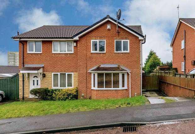 3 Bedrooms Semi Detached House for sale in Hardwick Court, Gateshead