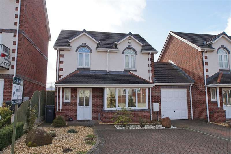 3 Bedrooms Link Detached House for sale in CA2 5TS John Robert Gardens, off Dalston Road, CARLISLE, Cumbria