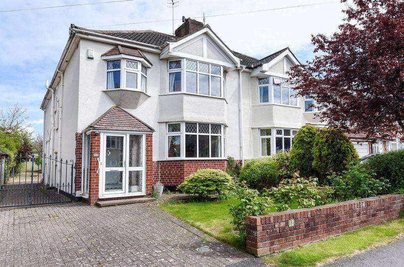 4 Bedrooms Semi Detached House for sale in Cooper Road, Bristol