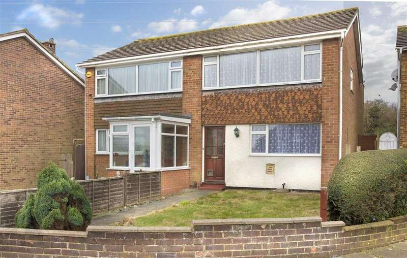 3 Bedrooms Semi Detached House for sale in Rowan Close, Portslade