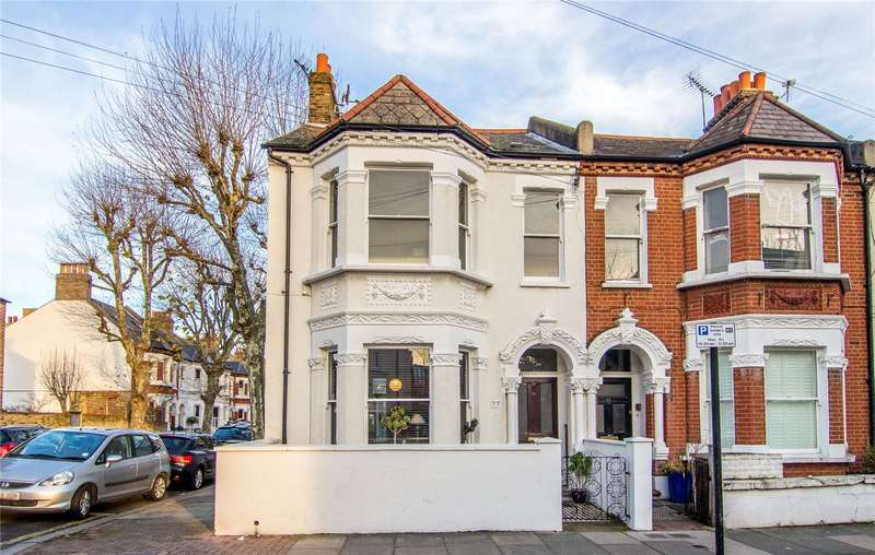 5 Bedrooms End Of Terrace House for sale in Melody Road, Wandsworth, London, SW18