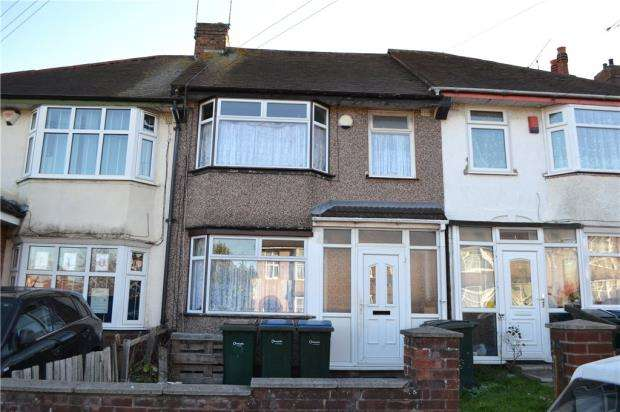 3 Bedrooms Terraced House for sale in Torcross Avenue, Coventry, West Midlands