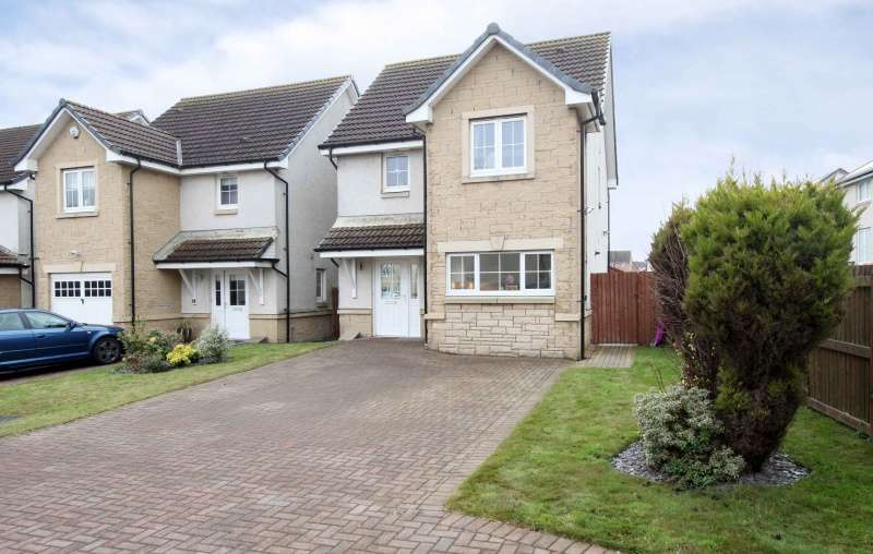 3 Bedrooms Detached House for sale in Gillespie Grove, Kirkcaldy, Fife, KY2 6ZU
