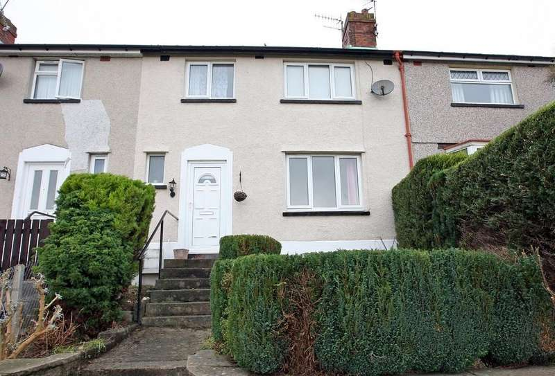 3 Bedrooms Terraced House for sale in Ffordd Coed Mawr, Bangor, North Wales