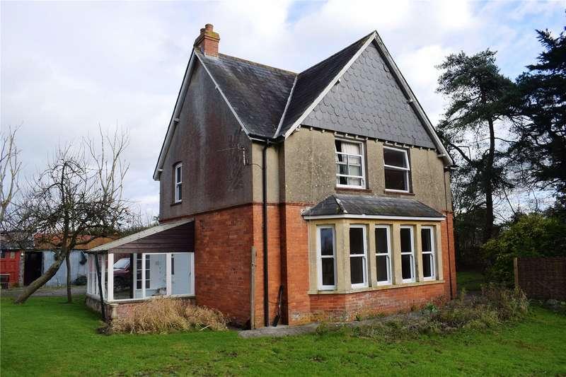 3 Bedrooms Detached House for sale in Hornblotton, Shepton Mallet, Somerset, BA4