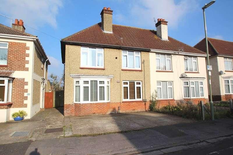 3 Bedrooms Semi Detached House for sale in Gordon Road, Fareham