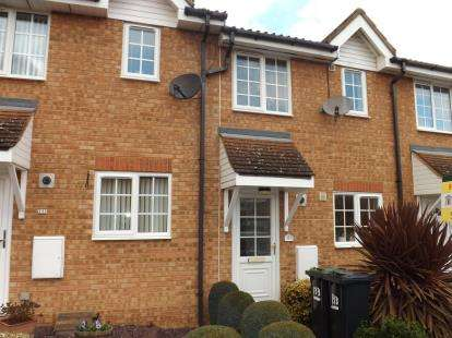 2 Bedrooms Terraced House for sale in Elgar Drive, Shefford, Bedfordshire