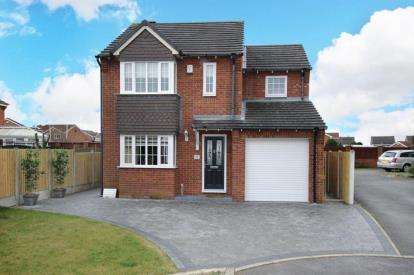 4 Bedrooms Detached House for sale in St. Johns Court, Sunnyside, Rotherham, South Yorkshire