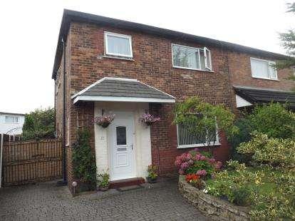 3 Bedrooms Semi Detached House for sale in Achilles Avenue, Warrington, Cheshire, WA2