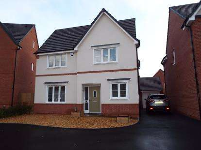 4 Bedrooms Detached House for sale in Moss Wood Court, New Broughton, Wrexham, Wrecsam, LL11