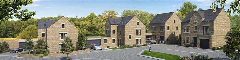 4 Bedrooms Link Detached House for sale in PLOT 1 BRACKEN CHASE, Bracken Chase, Skye Lane, Scarcroft, West Yorkshire