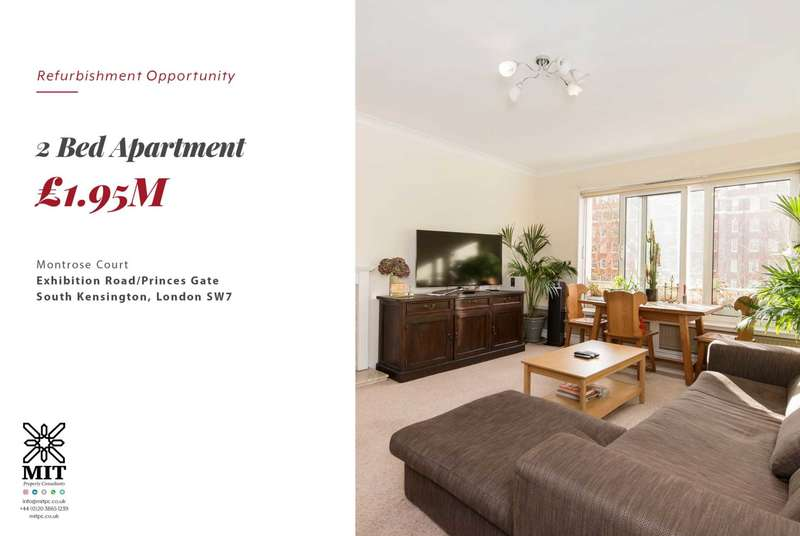 2 Bedrooms Apartment Flat for sale in Princes Gate, South Kensington