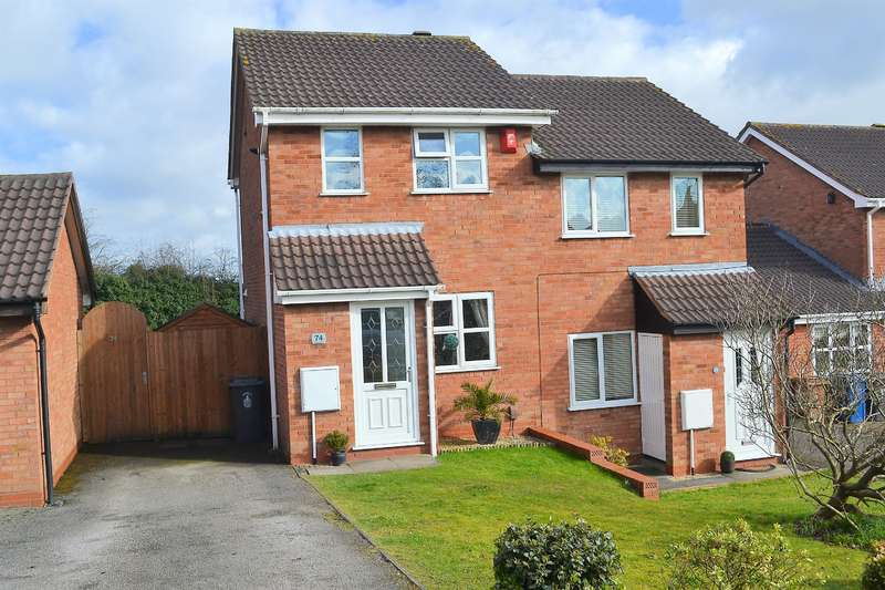 2 Bedrooms Semi Detached House for sale in Wolsey Road, Lichfield, WS13 7QJ