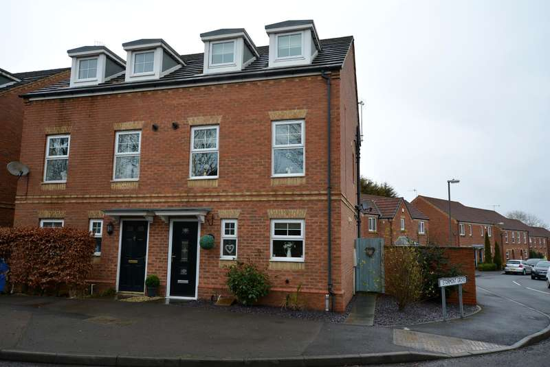 3 Bedrooms Semi Detached House for sale in Inkersall Green Road, Inkersall, Chesterfield, S43