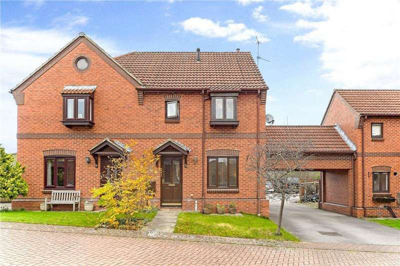3 Bedrooms Semi Detached House for sale in Station Drive, Ripon, North Yorkshire