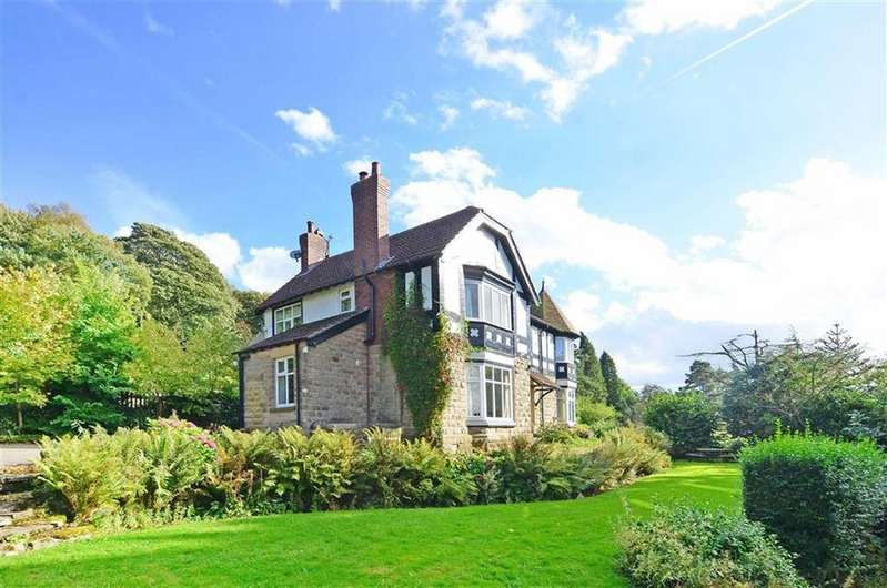 4 Bedrooms Detached House for sale in The Leas, Tedgness Road, Grindleford, Hope Valley, Derbyshire, S32