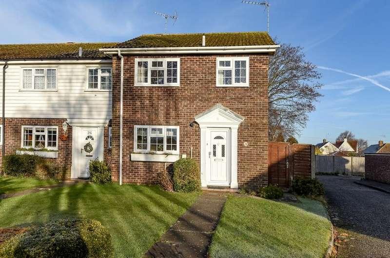 3 Bedrooms End Of Terrace House for sale in Leopold Close, Felpham, Bognor Regis, PO22
