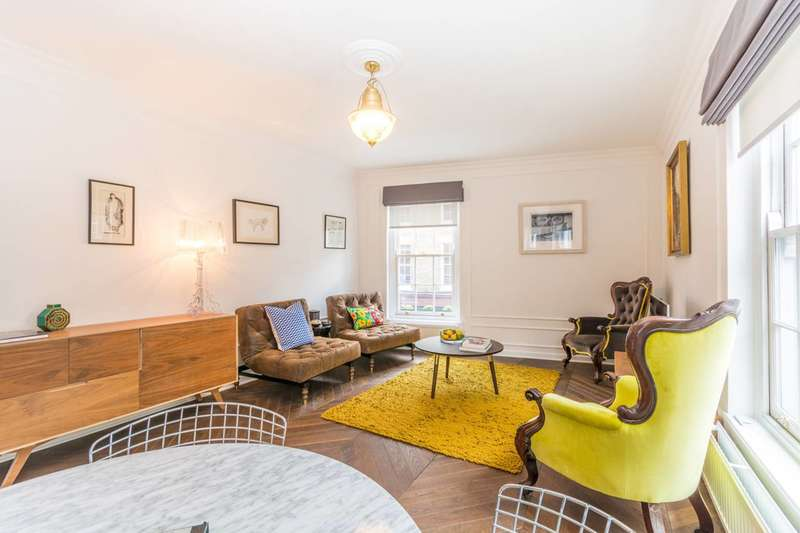 2 Bedrooms Flat for sale in Whitfield Street, Fitzrovia, W1T