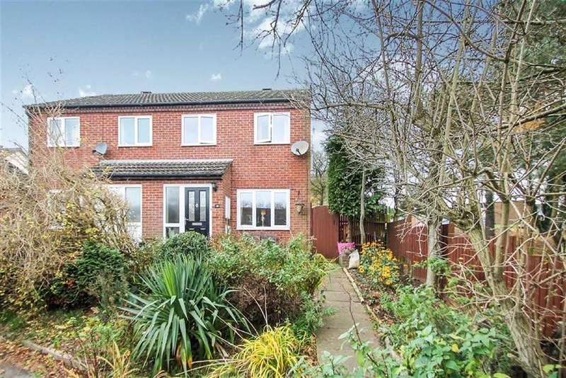 3 Bedrooms Semi Detached House for sale in Clee View Close, Ludlow