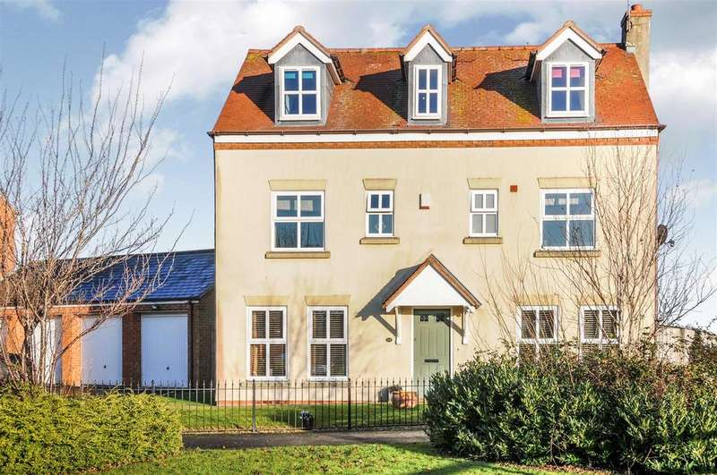 5 Bedrooms Detached House for sale in Parrish Close, Bishops Itchington, Southam