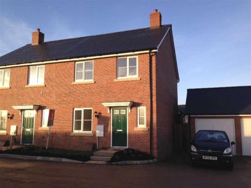 3 Bedrooms Semi Detached House for rent in Feniton, Honiton, Devon, EX14
